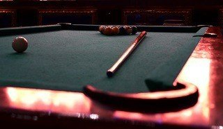 Professional pool table setup in Shelton content img2